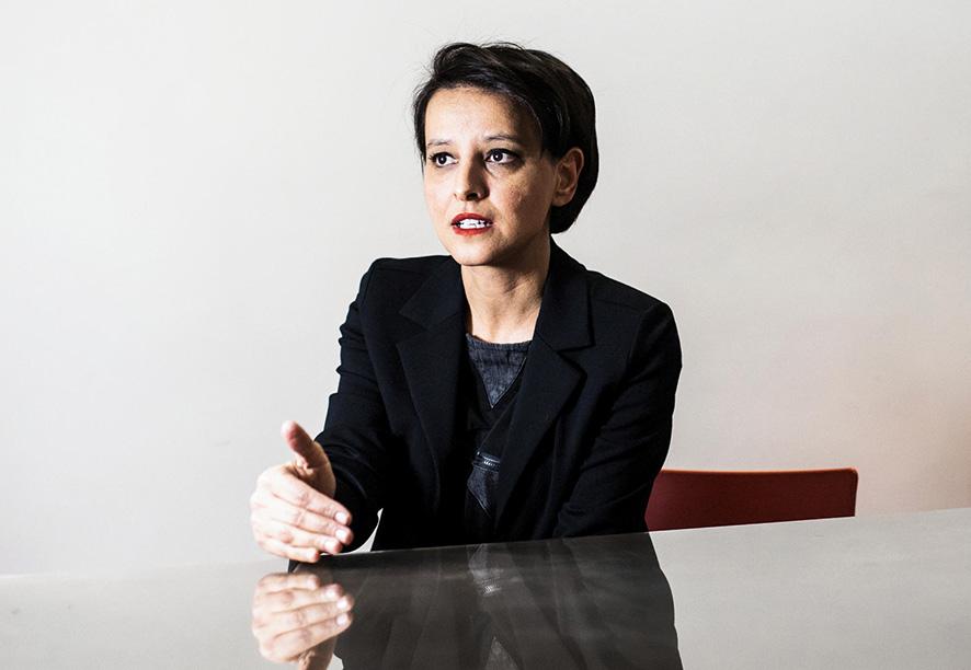 Najat Vallaud-Belkacem, candidate PS aux régionales © Antoine Merlet