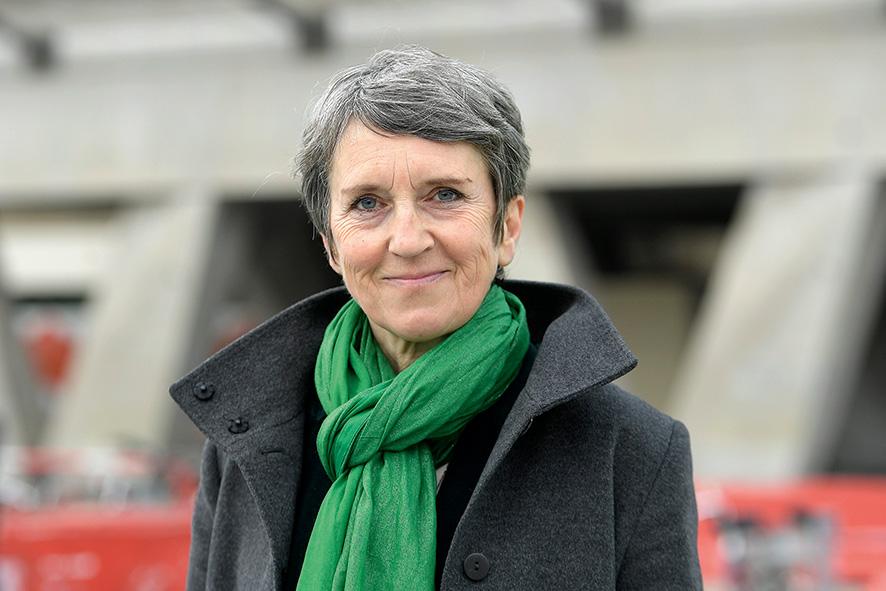 Fabienne Grébert, candidate EELV aux élections régionales © Maxppp
