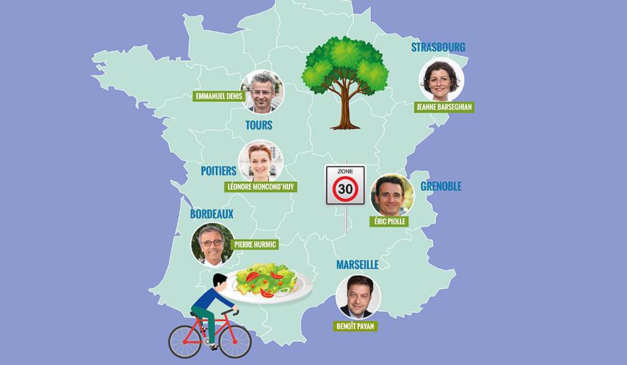 Le premier bilan des maires de la vague verte