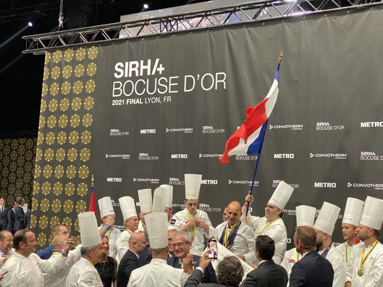 La France remporte le Bocuse d'Or 2021